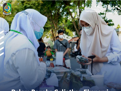 Dalam Rangka Geliatkan Ekonomi UMKM, Bupati - Wabup Banyuwangi Izinkan Pasar Takjil Ramadhan 2021
