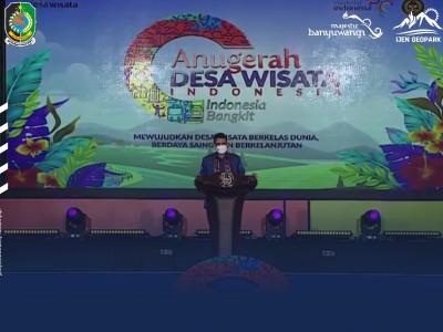 Dorong Pengembangan Desa Wisata, Kemenparekraf Luncurkan Anugerah Desa Wisata 2021