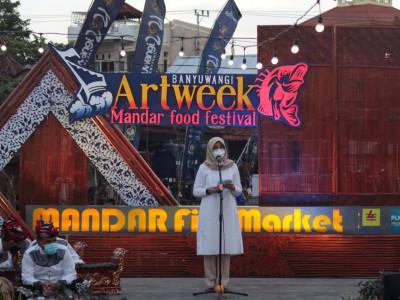 Kini Hadir Pusat Pasar Ikan, Bupati Banyuwangi Launching Mandar Fish Market