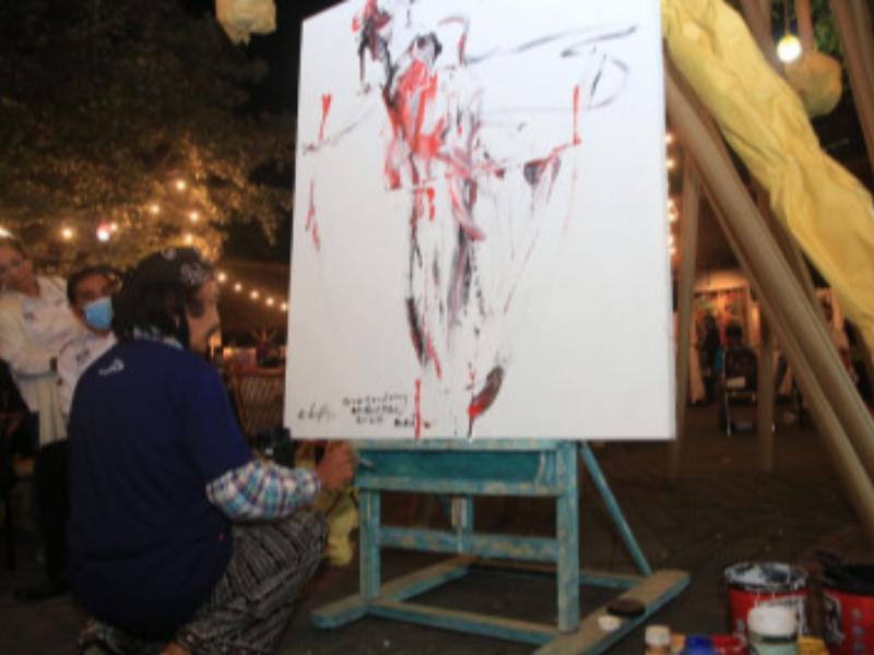 Apresiasi Seniman, Banyuwangi Gelar Pameran Seni Lukis, Fotografi dan Patung Hadir Selama Sepekan